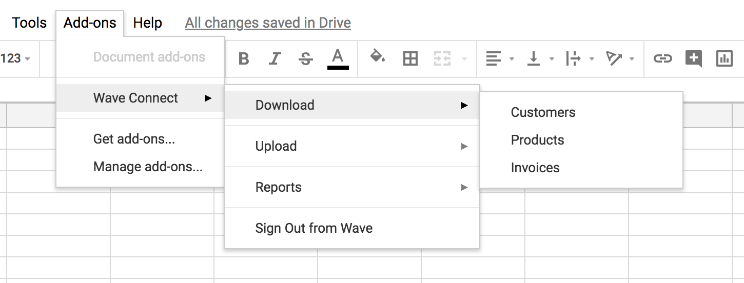 Wave Connect Easily Import And Export Data With Wave S