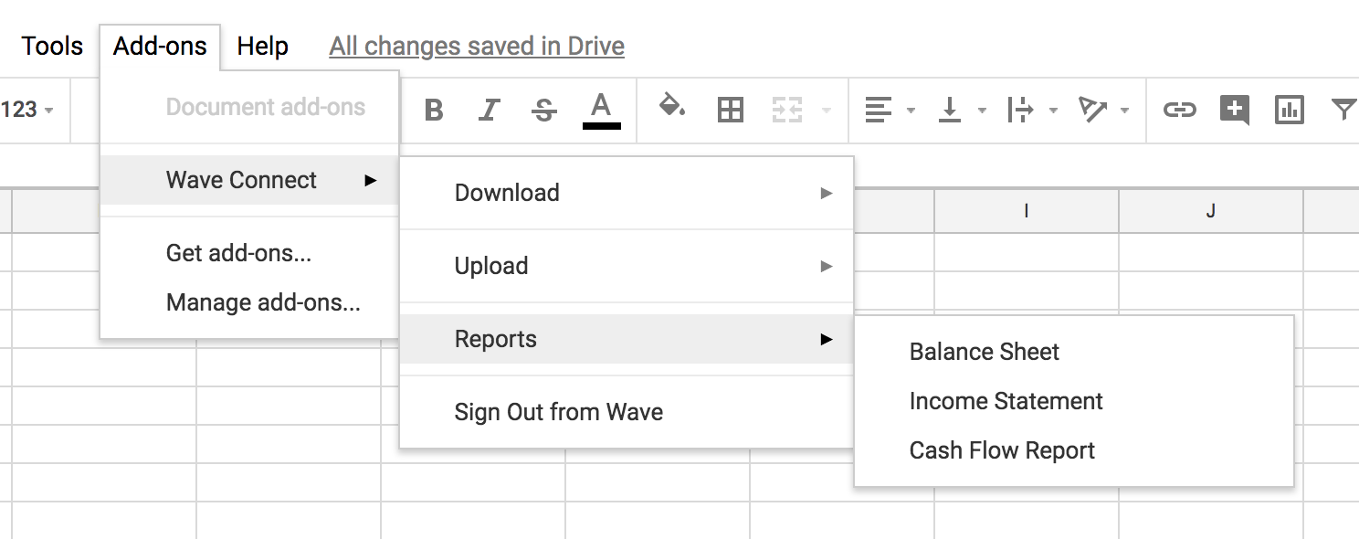 Wave Connect: Easily import and export data with Wave's