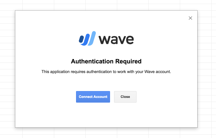Wave Connect: Easily import and export data with Wave's Google